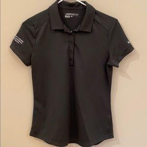 EUC Nike Golf Modern Dri-fit Polo Dk Grey Sz M